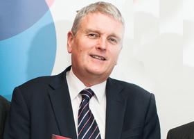New Health Minister Jim Wells MLA.