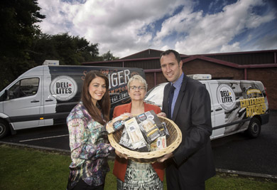 Delilites secure additional business with Sainsbury's Leading Warrenpoint- based company, Delilites, has recently secured an impressive 50% increase of foodstuffs supplied to leading  supermarket, Sainsbury's. Pictured announcing this increase in business is Jackie Reid, Sales Director for Delilites, MP Margaret Ritchie and Paul McAlinden, Regional and World Foods Supply Manager.
