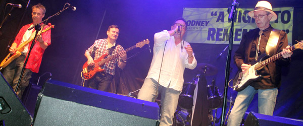 Rosetta Stone and seven other groups played at the PIPS concert at Delamont supporting headline act Bap Kennedy and the Breadliners.