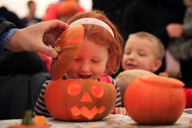 Pumpkinfest... a time of Halloween magic at Castle Ward