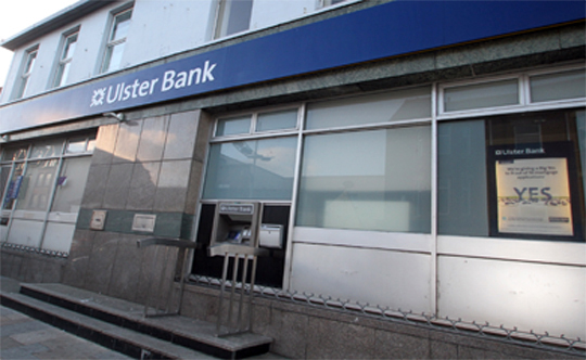 Local concerns over the Ulster Bank in Newcastle.