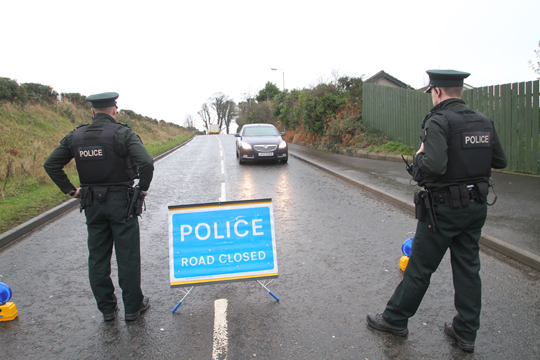 Homes have been evacuated  as precaution in the Bishops Brae area following a suspicious package alert. The bomb squad are at the scene.