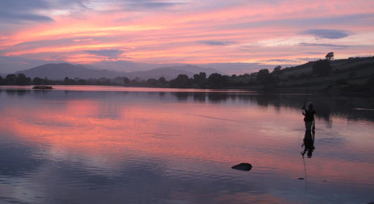 A beautiful setting at Ballyloiugh Lake near Castlewellan.
