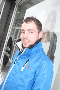 Michael Walsh from Downpatrick
