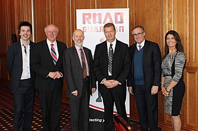 Strangford MP Jim Shannon, second left,