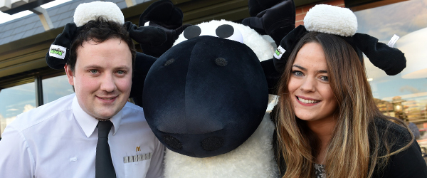 McDonald\'s restaurant in Downpatrick held a well-attended Shaun the Sheep family fun day.