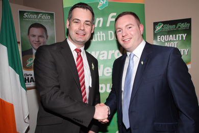 TD wishes Chris Hazzard all the best for the forthcoming Westminster election.