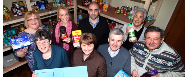 Fountain Foodbank has been officially launched in Downpatrick providing food for the needy.