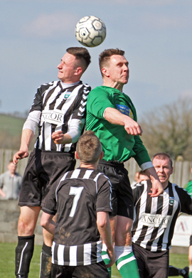 Newcastle II's and Castlewellan went head to head in a close fought Harry Clarke Cup Final.