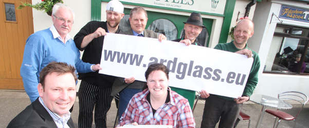 Local business people in Ardglass launch the new village website with a comprehensive business directory.