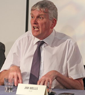 Jim Wells MLA and NI Health MInister responds to the question on gay marriage being passed in law in Northern Ireland.