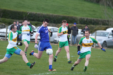 Loughinisland proved too strong for An Roicht in the early season encounter.