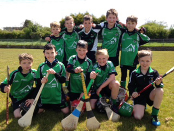The young Castlewellan hurlers who took part in a blitz last weekend.
