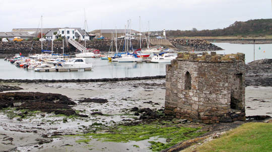 The Bathing House in Ardglass (Photo by Jim Masson,)
