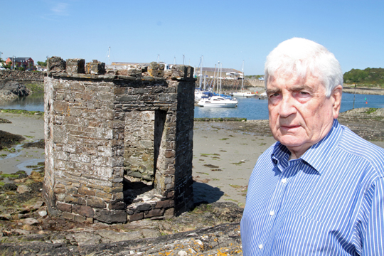 Cllr Dermot Curran has welcomed £27,000 funding from the Folly Trust for immediate repairs to the Ardglass bathing House which was in danger of collapse.