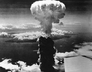 Hiroshima - 6 August 1945, where the first hydrogen bomb exploded on the city.