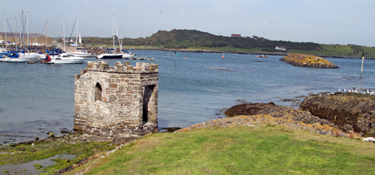 Ardglass bathing station - ready for another 100 years.