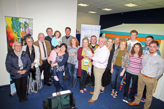 Pop Up Art were the winners on the night at Downpatrick Soup.