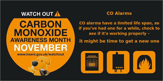 Bell Supports Carbon Monoxide Awareness Month Down News