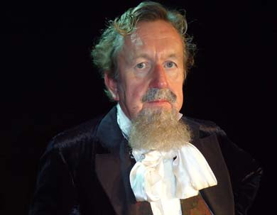 Pip Upton will read A Christmas Carol by Charles Dickens at the Down Arts Centre.