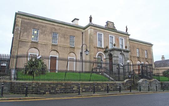 Downpatrick Courthouse -  definitely not on the closure list.