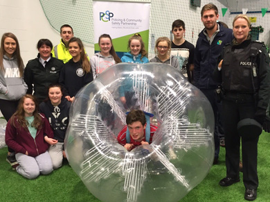 The Down PCSP has organised Friday evening activities for young people at the Ballymote Leisure and Wellbeing Centre.