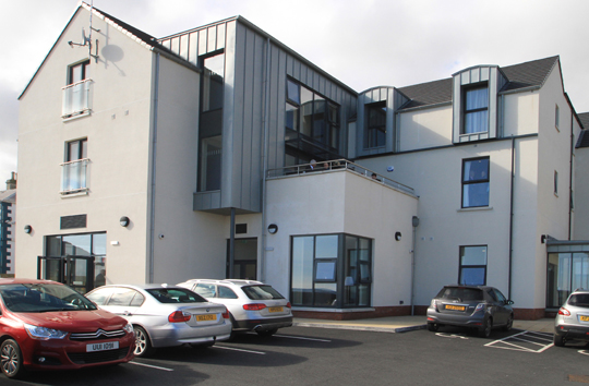 The refurbished Clare Lodge facility in Newcastle.