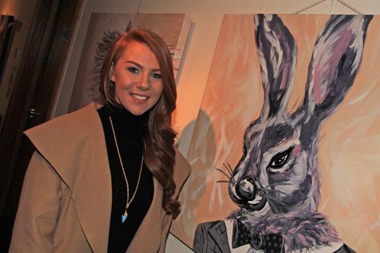 'Hare in the Fair' by artist Karen Fitzsimons from Downpatrick.
