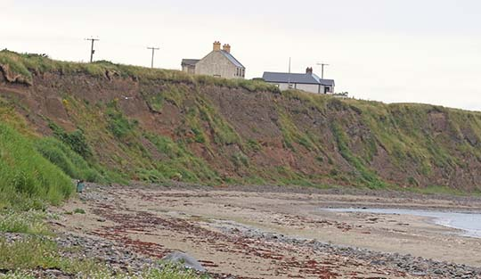 Ballyhornan Beach is just one of the local coastal areas in Down affected by erosion.