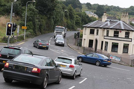 Collins' Corner in Downpatrick.