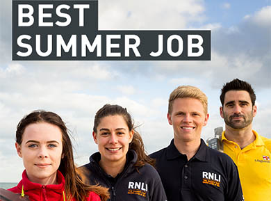 Could you measure up to a summer as an RNLI lifeguard or volunteer?