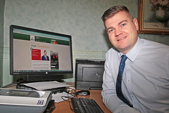 South Down MLA Colin McGrath has backed the FSB call for improved broadband services in the area for rural dwellers and businesses.