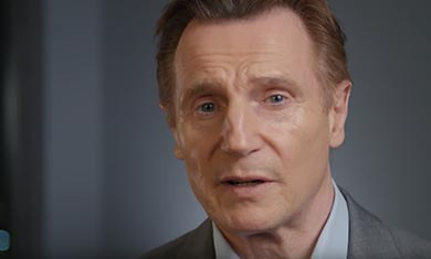 Actor Liam Neeson has backed the campaign for Integrated Education in Northern Ireland.