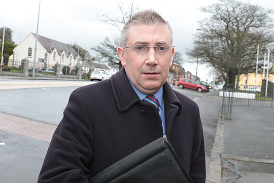 Independent candidate  Patrick Clarke in the Assembly election backs the Narrow Water Bridge.