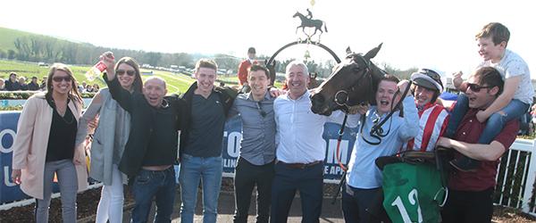 Local horse Anseanachai Clisté wins Toals Bookmakers Ulster National European Breeders Fund Handicap Steeplechase.