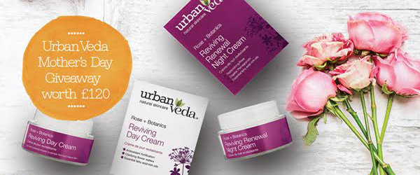 Win a natural skincare Urban Veda hamper for Mother\'s Day from MediCare in Downpatrick.