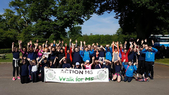 St Mary's High School Raise Funds For Action MS | Down News