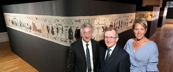 Go see the 77-metre Game of Thrones tapestry made of Irish linen at the Ulster Museum covering the seven series.