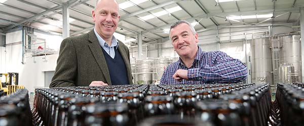 Castlewellan\'s Whitewater Brewery wins export contracts with Invest NI help.