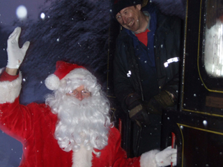 Santa makes his last call for families to join him at Downpatrick and County Down Railway on the Lapland Express.