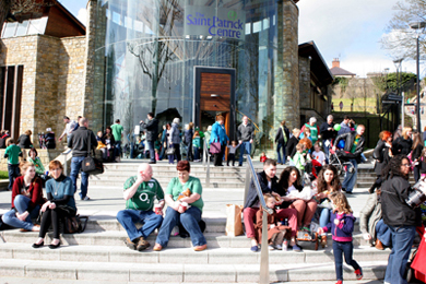 The St Patrick Centre in Downpatrick is a haven for tourists from abroad as well as locally.