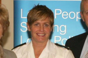 Down Area Commander Chief Inspector Deirdre Bones.,