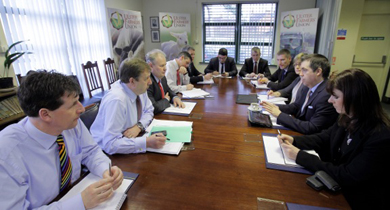 NIIRTA has held a meeting with the UFU to discus the horsemeat crisis.