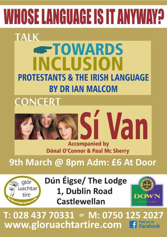 irish event copy