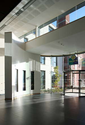 Down Civic Centre, shortlisted in the RICS awards.