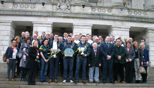 The Ulster U-21 Champions -Bryansford GAC at Stormont.