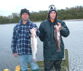 Carrickmannon Fishery provides plenty of  sport for local anglers.
