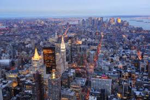 New York... a popular destination for young workers from County Down.