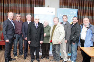 At the meeting to launch the Ardglass WWtW were NI water officals and residents from Ardglass and surrounding communities with Councillors Dermot Curran, Cadogan Enright and Liam Johnston.
