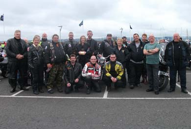The Ards Motor Cycle Club are riding out for the NSPCC.